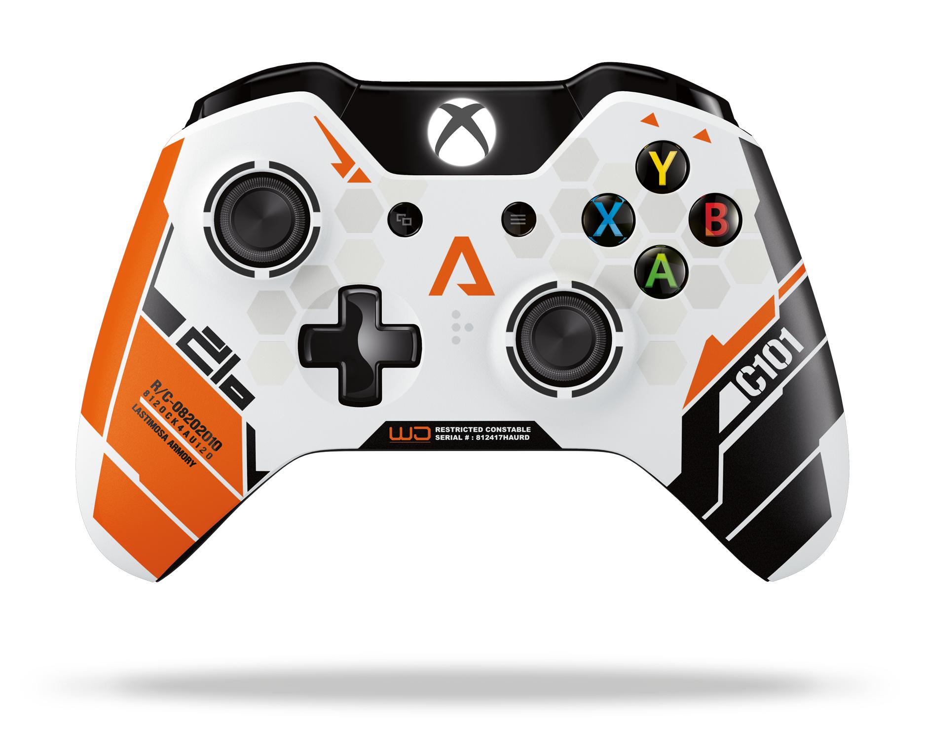 Une manette Titanfall sur Xbox One