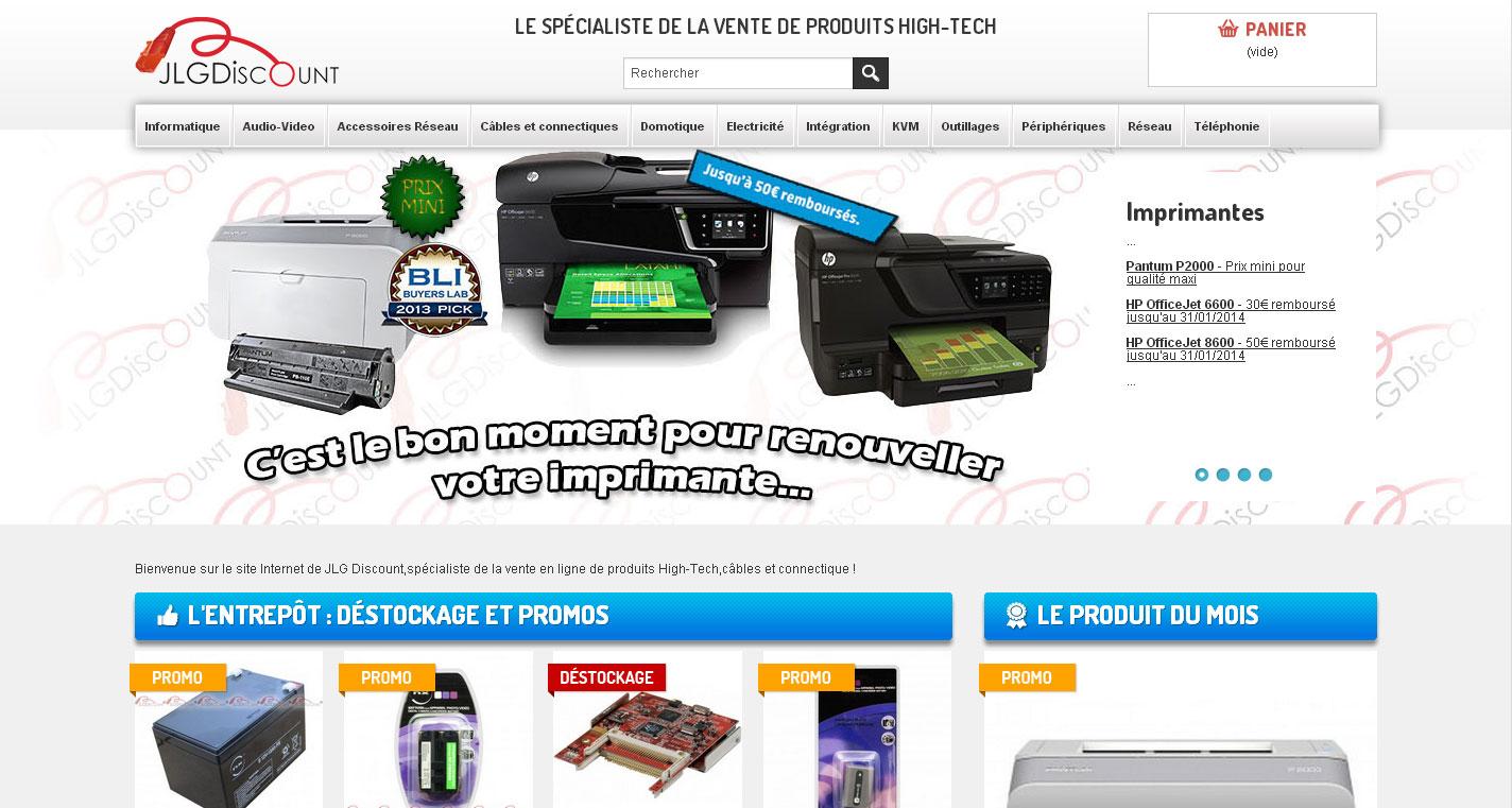 Acheter votre matériel informatique et console en tout confiance sur JLG Discount