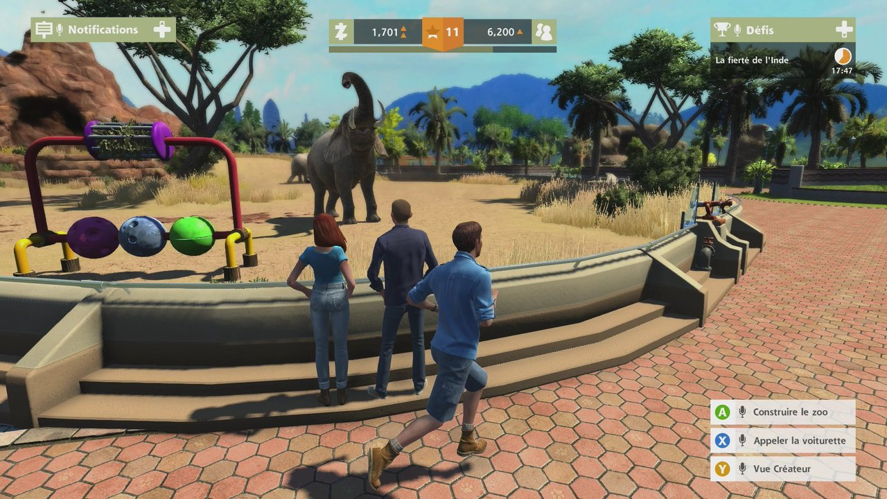 how to play zoo tycoon xbox one