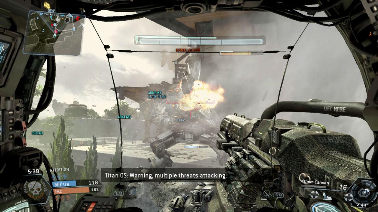 Titanfall sur Xbox 360 est encore retardé