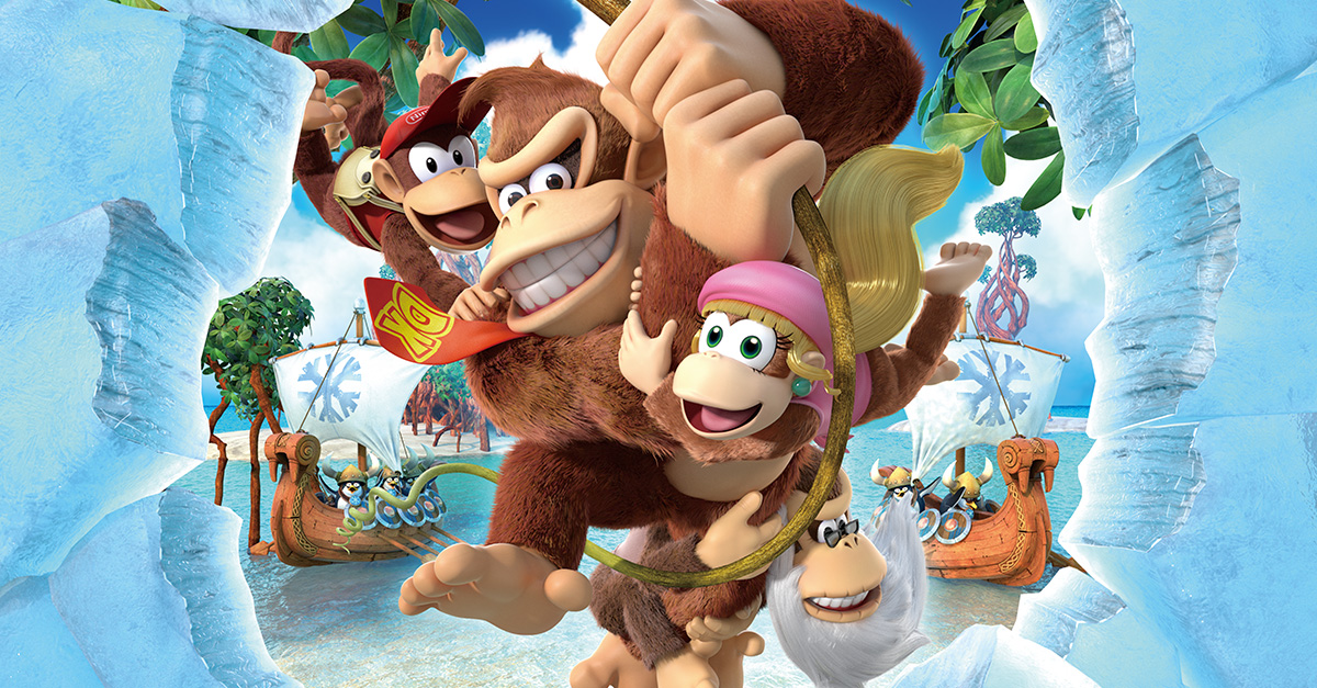 Test – Donkey Kong Country : Tropical Freeze