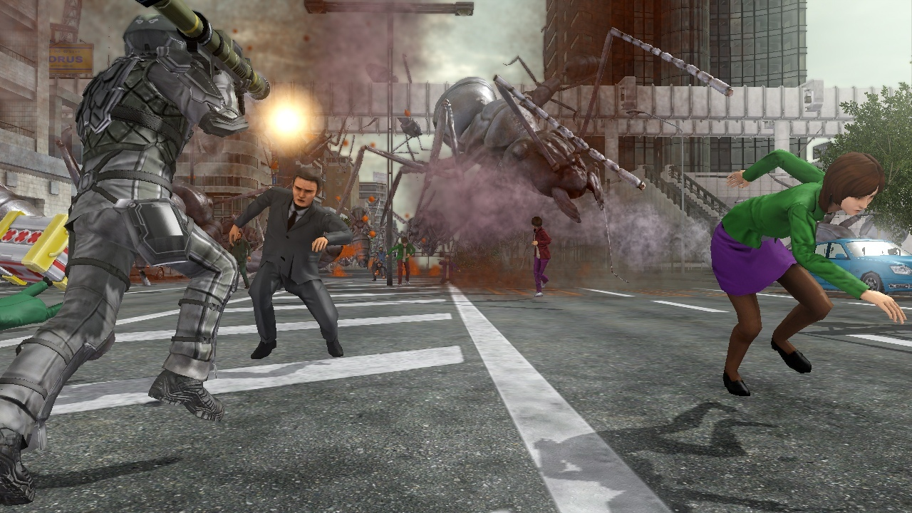 Test – Earth Defense Force 2025