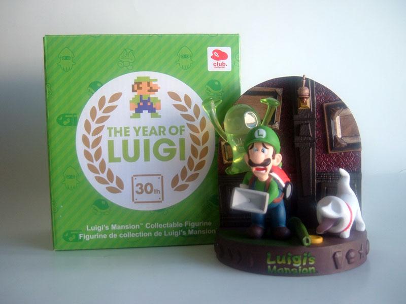 Luigi hante fièrement nos locaux