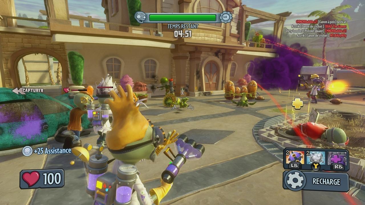 Un DLC gratuit pour Plants vs. Zombies : Garden Warfare