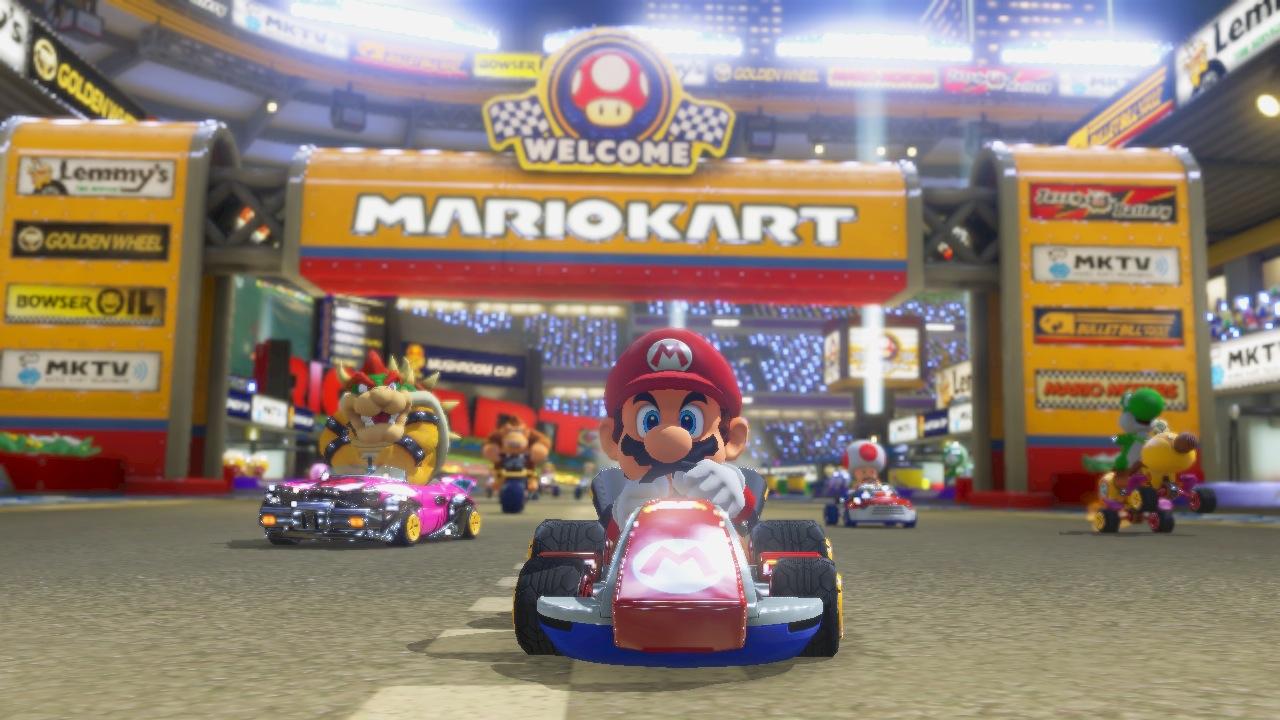 Une bande-annonce pour Mario Kart 8
