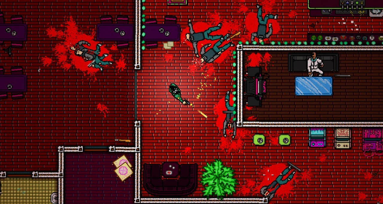 Bande-annonce pour Hotline Miami 2 : Wrong Number