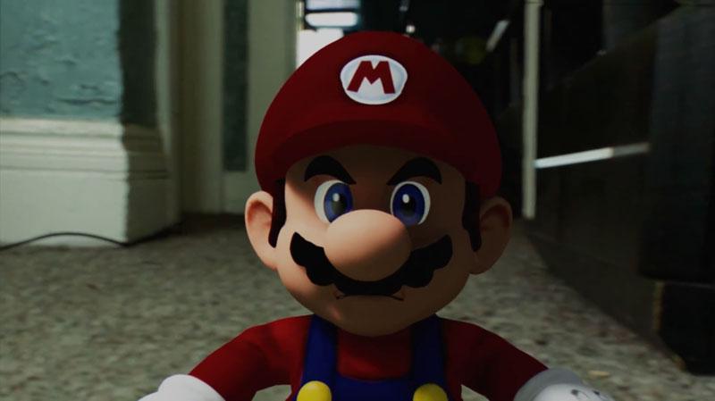 Vidéo : Ce que fait Mario quand on éteint notre console