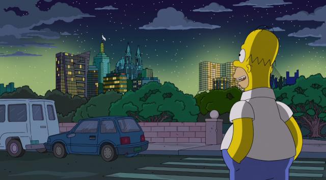 Jouer avec les Simpsons