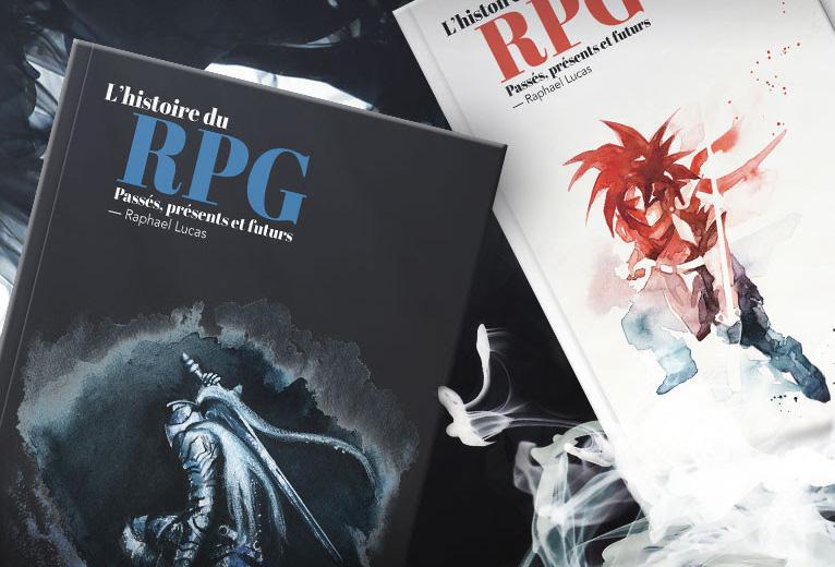 Pix'n Love annonce la préco d'un ouvrage sur L'histoire du RPG
