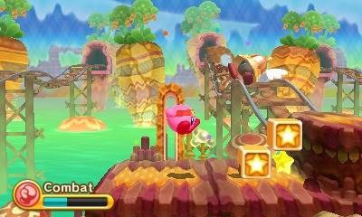 Quelques images du nouveau Kirby sur DS