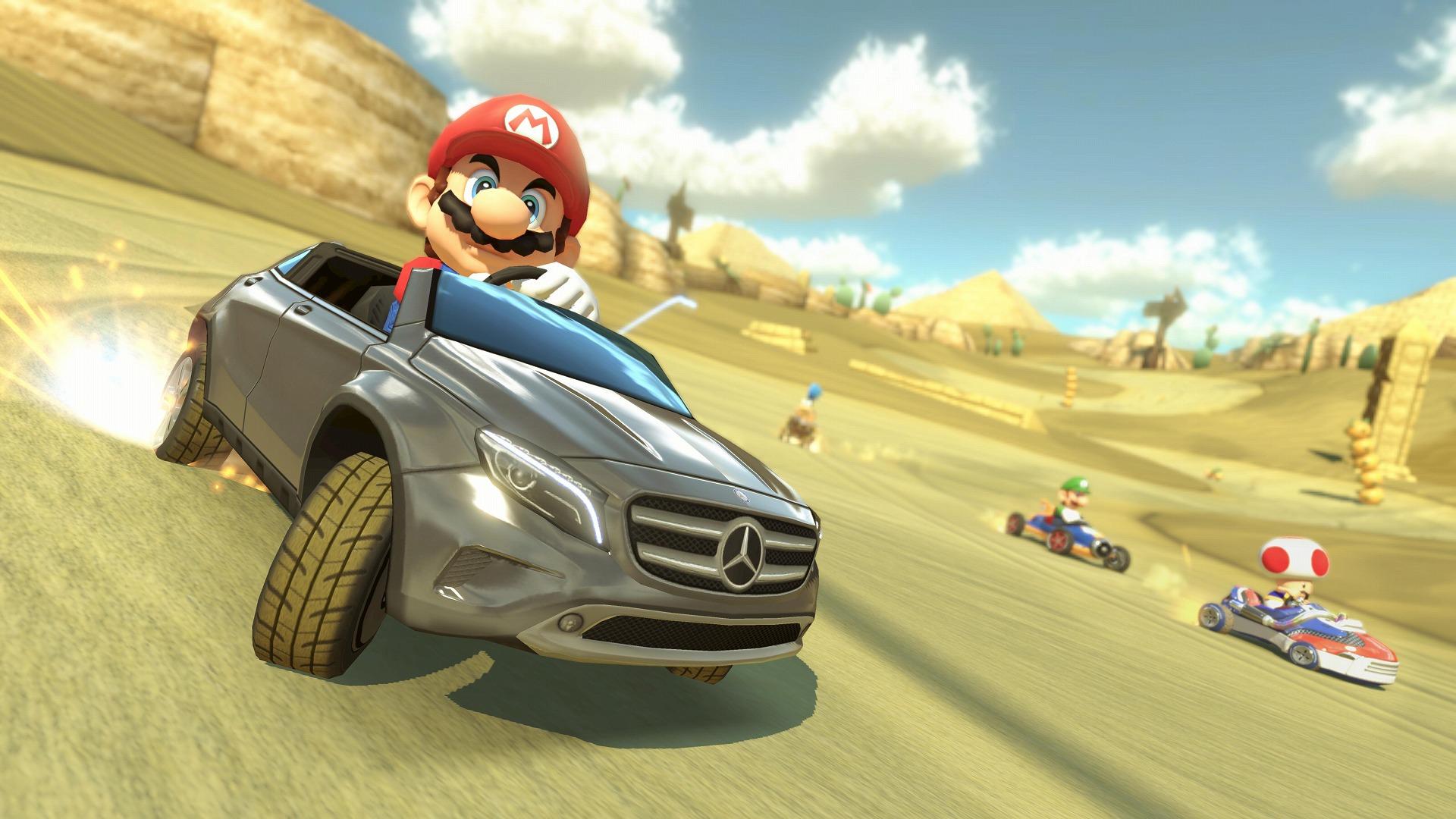 Un DLC s'annonce au Japon pour Mario Kart 8