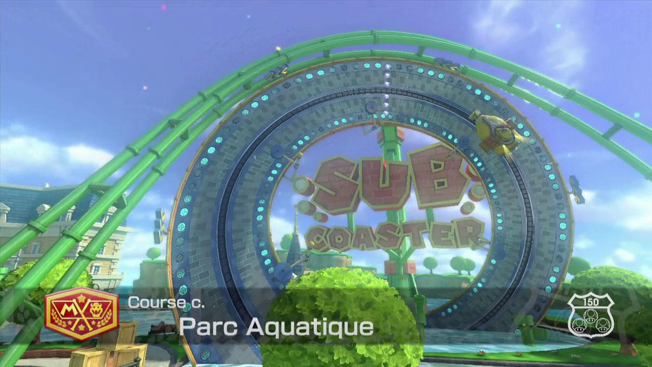 Extrait vidéo : Parc Aquatique – Mario Kart 8 sur Wii U