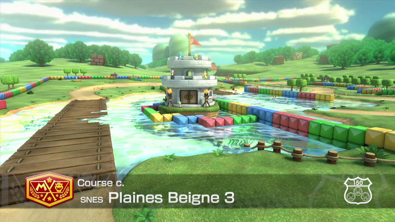Extrait vidéo : Plaine de Beignes – Mario Kart 8 sur Wii U