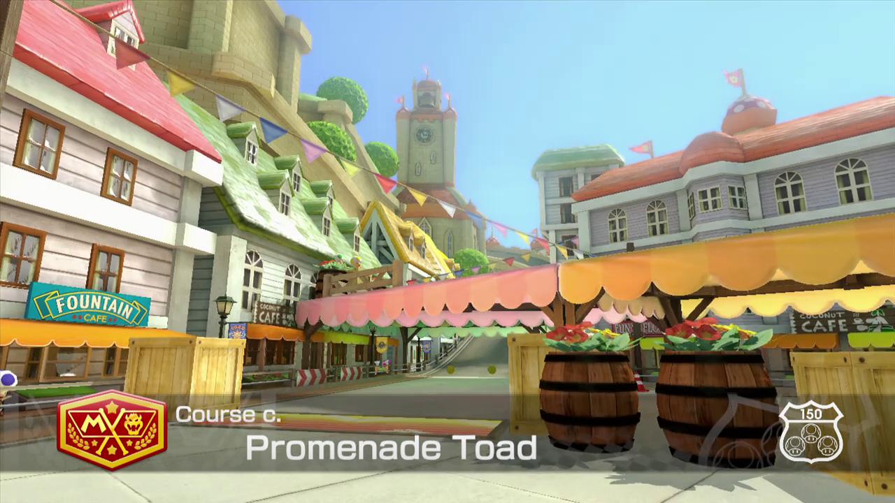 Extrait vidéo : Promenade Toad – Mario Kart 8 sur Wii U