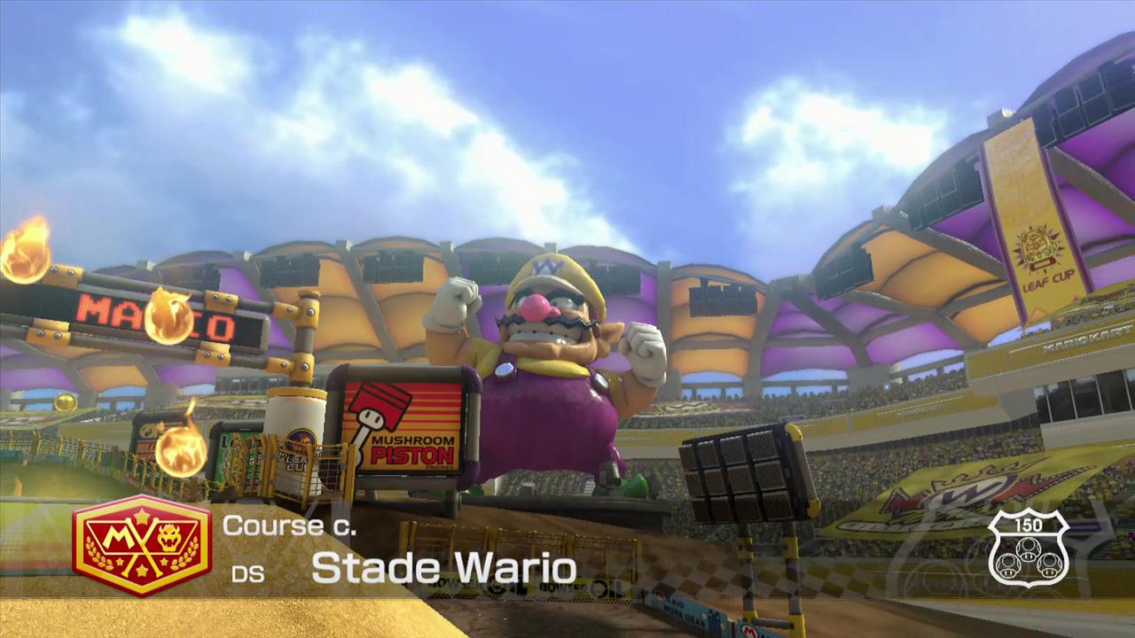 Extrait vidéo : Stade Wario – Mario Kart 8 sur Wii U