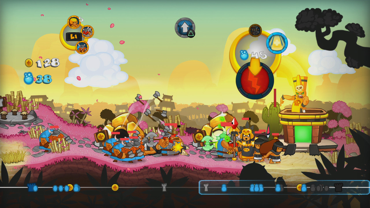 Sword & Soldiers HD se lance sur l'eShop de la Wii U