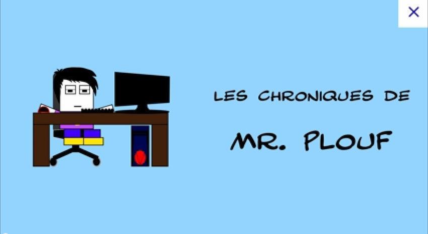 Au détour du net – 02 – Les chroniques de Mr. Plouf