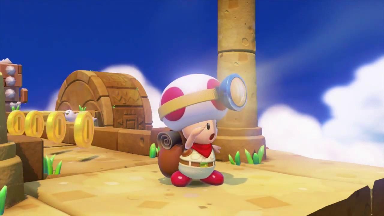 Une vidéo pour Captain Toad : Treasure Tracker sur Wii U
