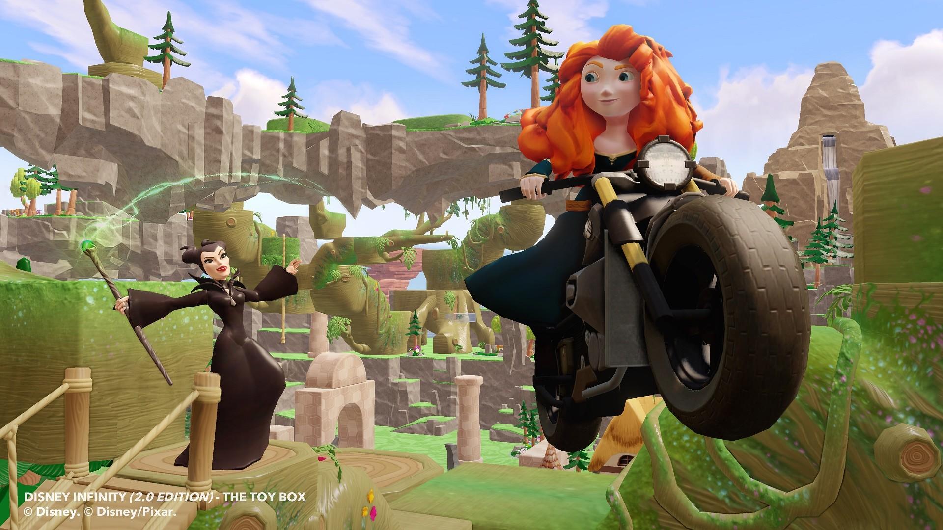 Merida et Maléfique s'invitent dans Disney Infinity 2.0