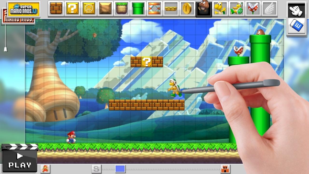 Mario Maker officiellement dévoilé en vidéo