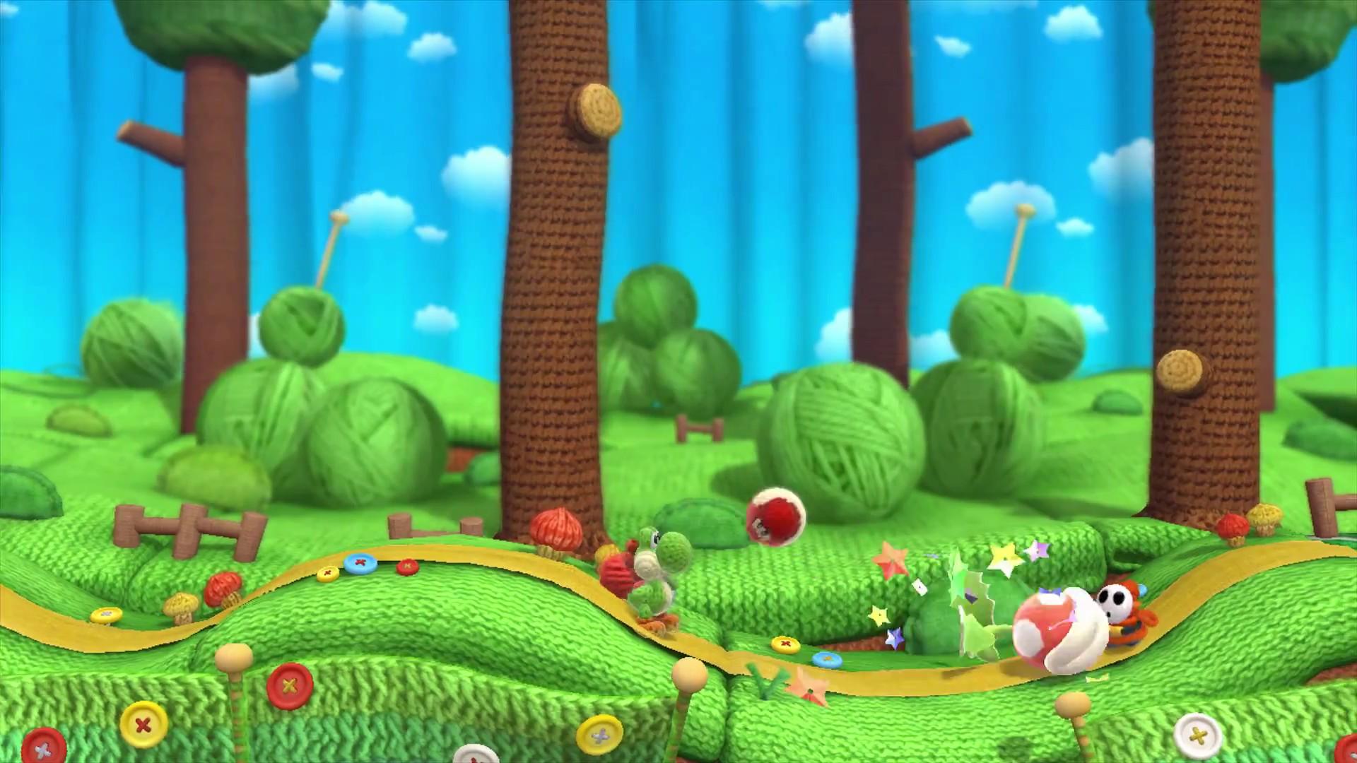 Yoshi's Woolly World se présente le temps d'une vidéo