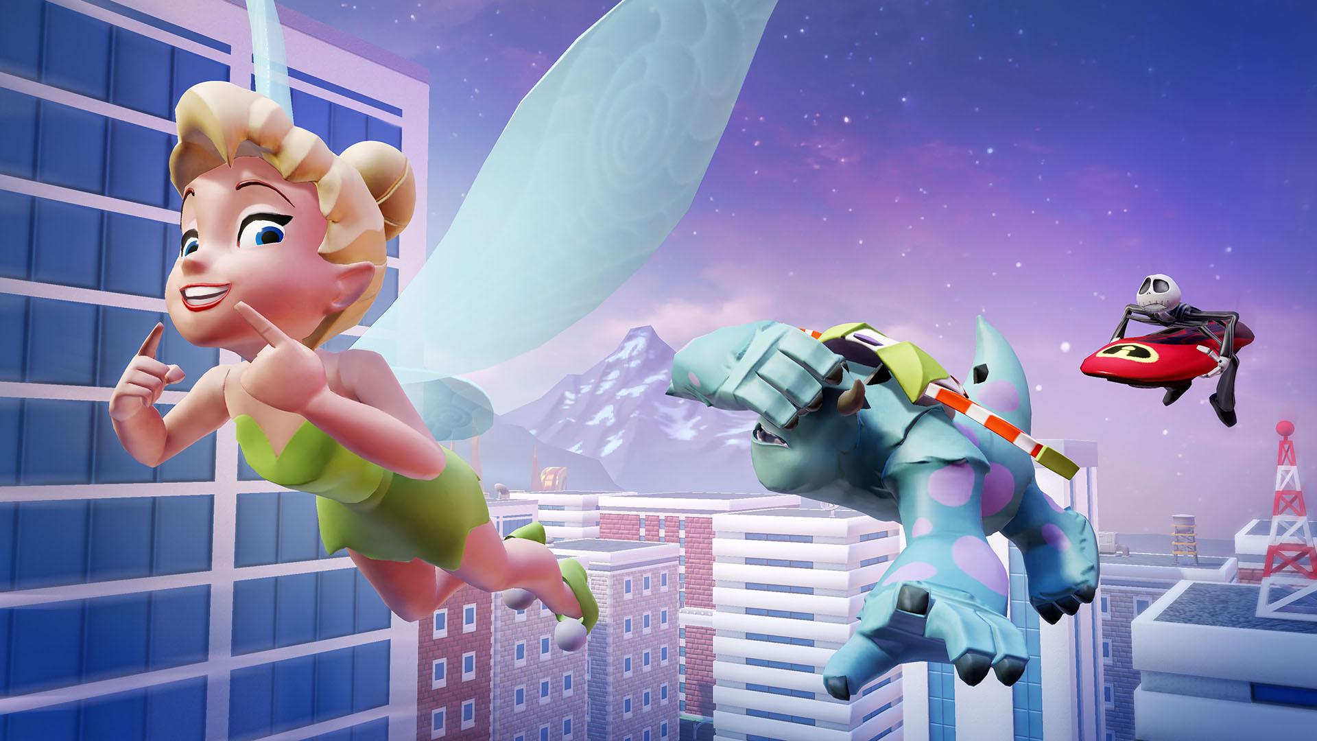 Disney Infinity 2.0 : Fée Clochette et Stitch s'ajoutent au casting