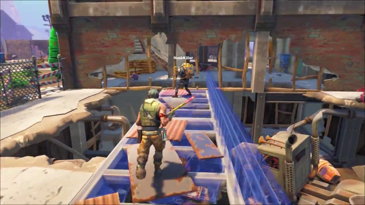 Fortnite sort de sa tombe le temps d'une video de gameplay