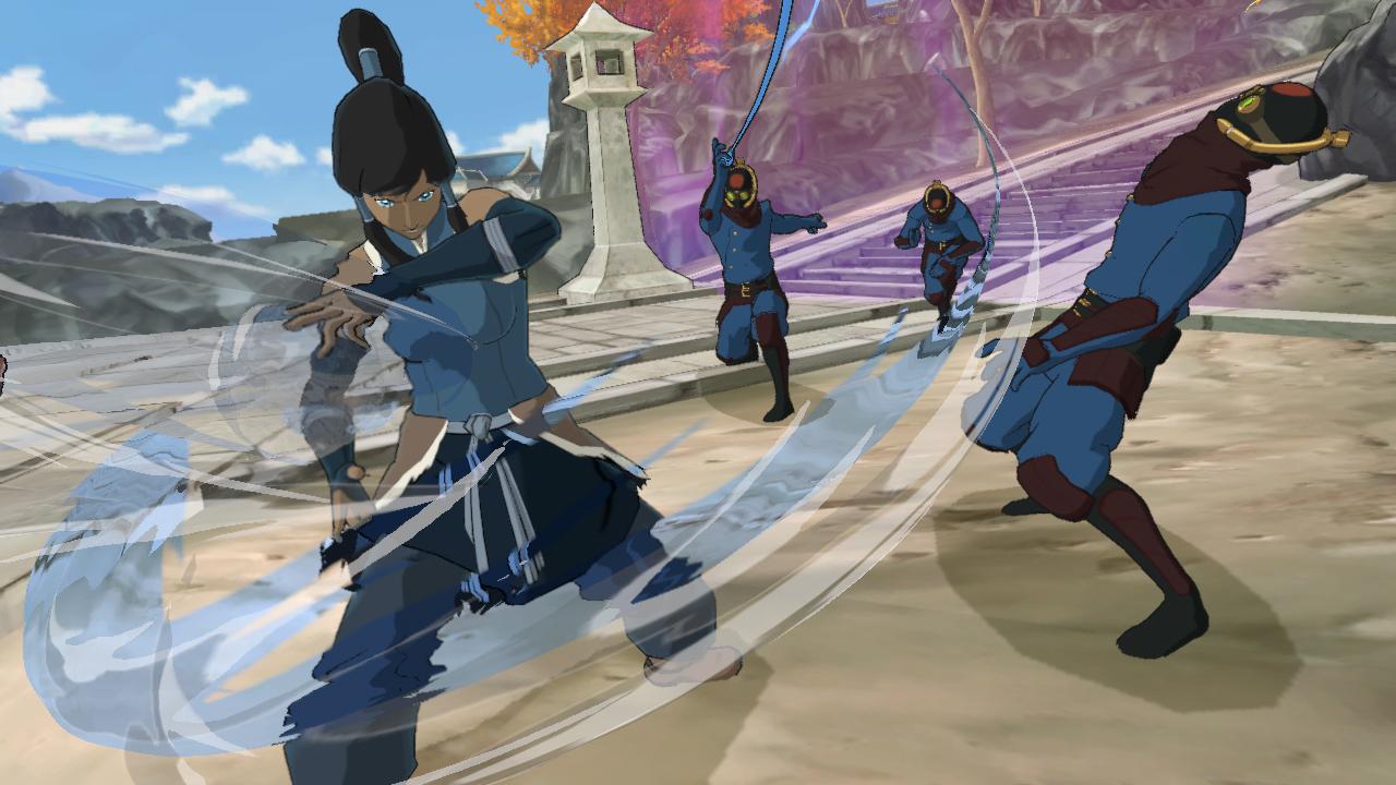 La Légende de Korra : un peu de gameplay en vidéo