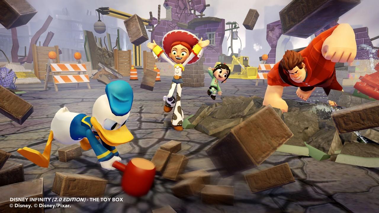 Disney Infinity 2.0 : le coffre à jouets en trailer