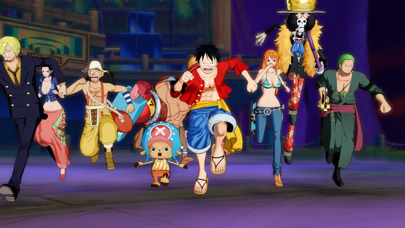 Test – One Piece Unlimited World Red