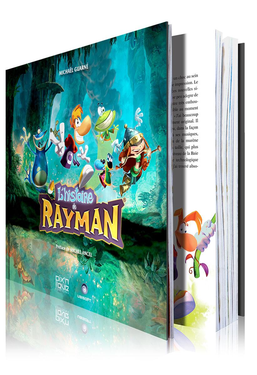 L'histoire de Rayman arrive chez Pix'n Love