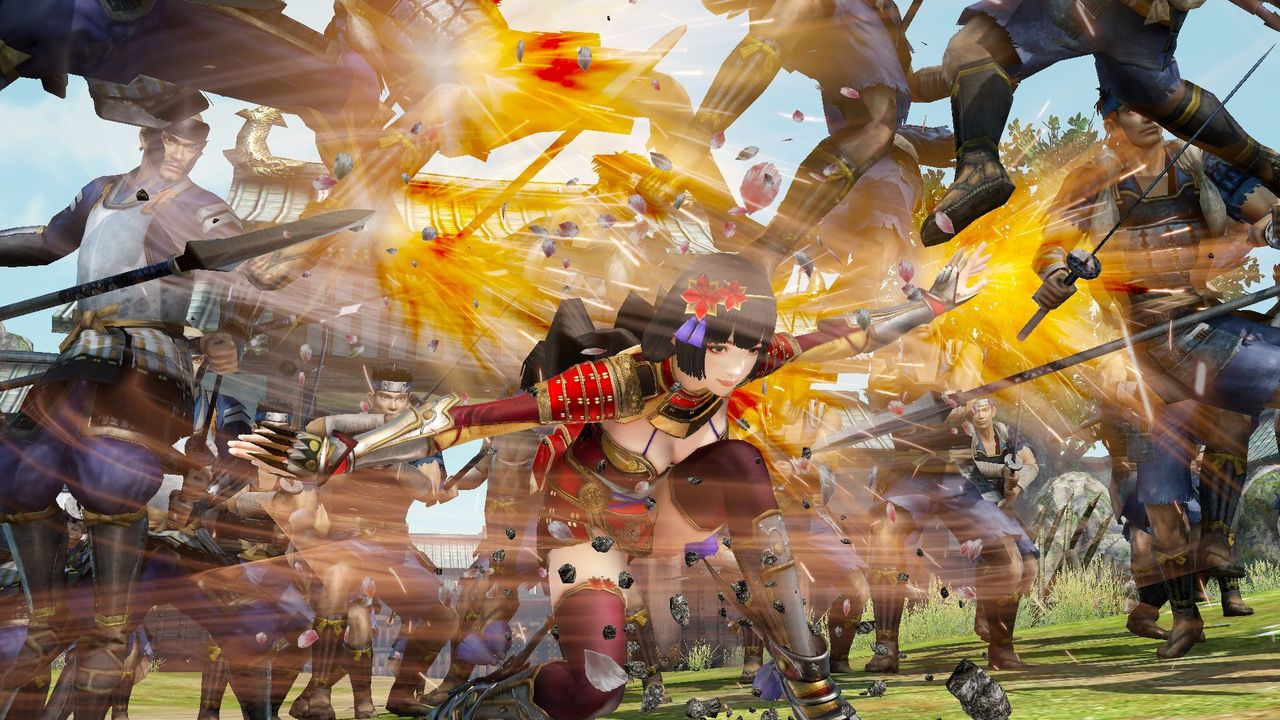 Samurai Warriors 4 : un peu de gameplay en vidéo