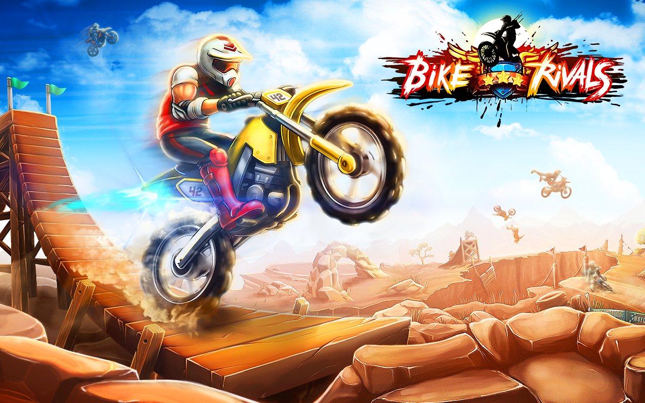 Le jeu gratuit de la semaine : Bike Rivals