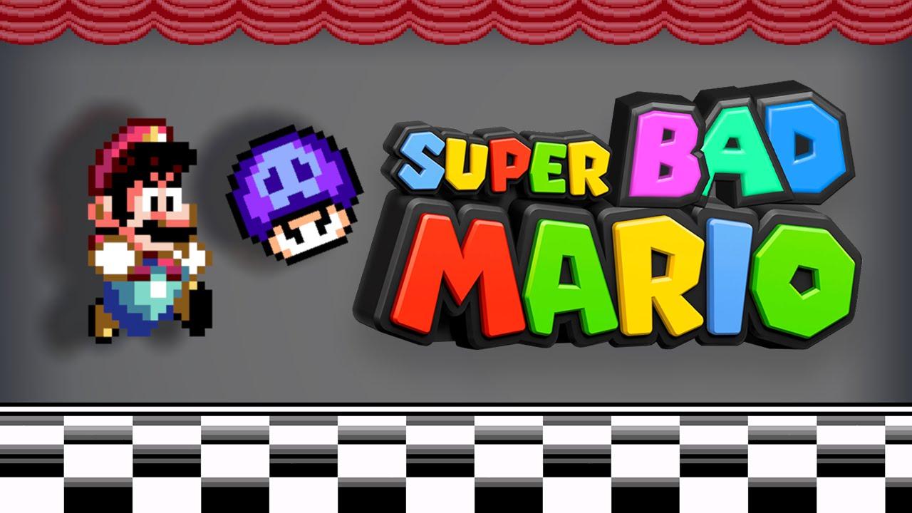 Vidéo : Super Bad Mario 2, les frères Mario s'amusent