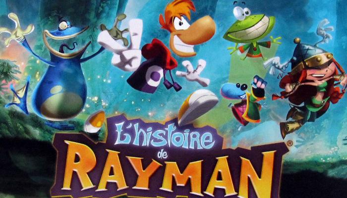 Découverte : L'histoire de Rayman, aux éditions Pix'n Love