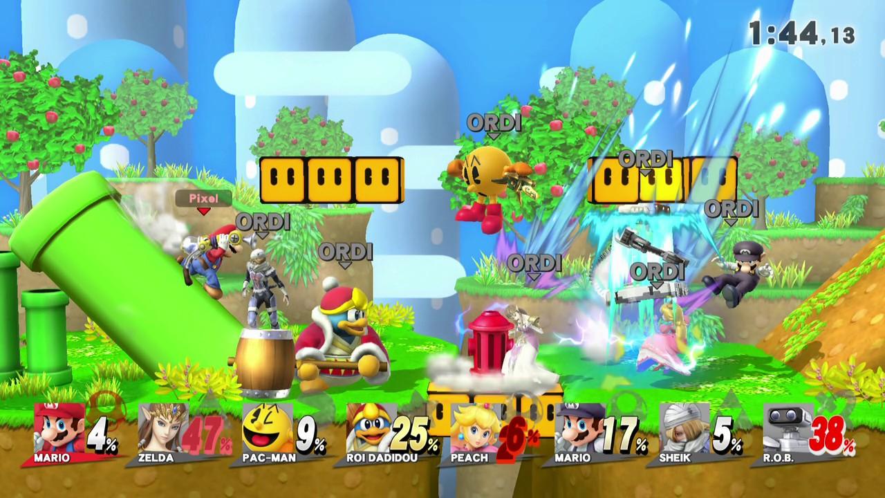 Test – Super Smash Bros. for Wii U : du bon fan-service