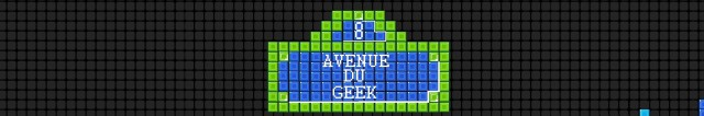 8 avenue du geek - Banner