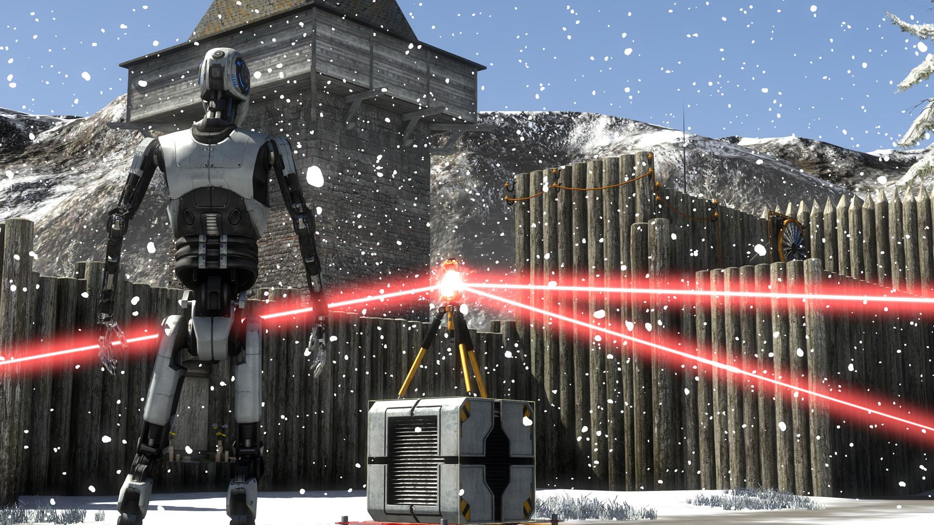 PixelFactory: The Talos Principle monde C4