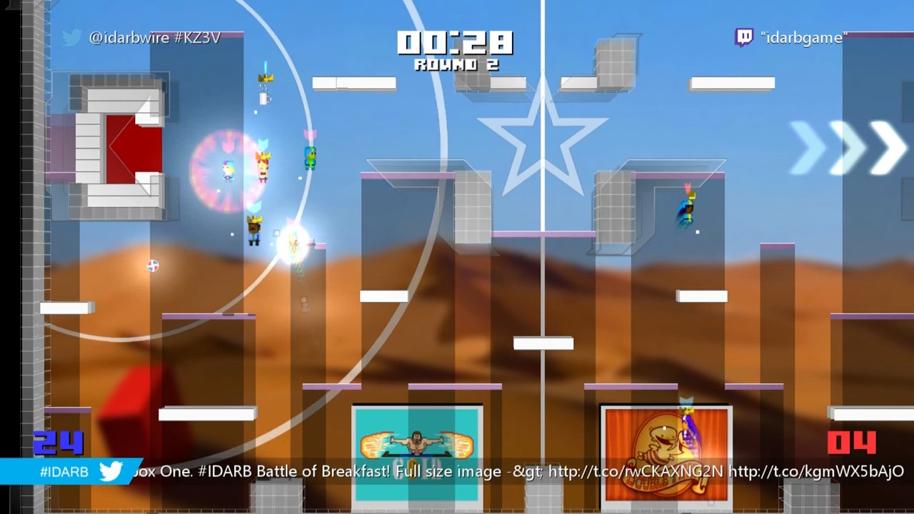 Test : #IDARB : un jeu de ballon en multi