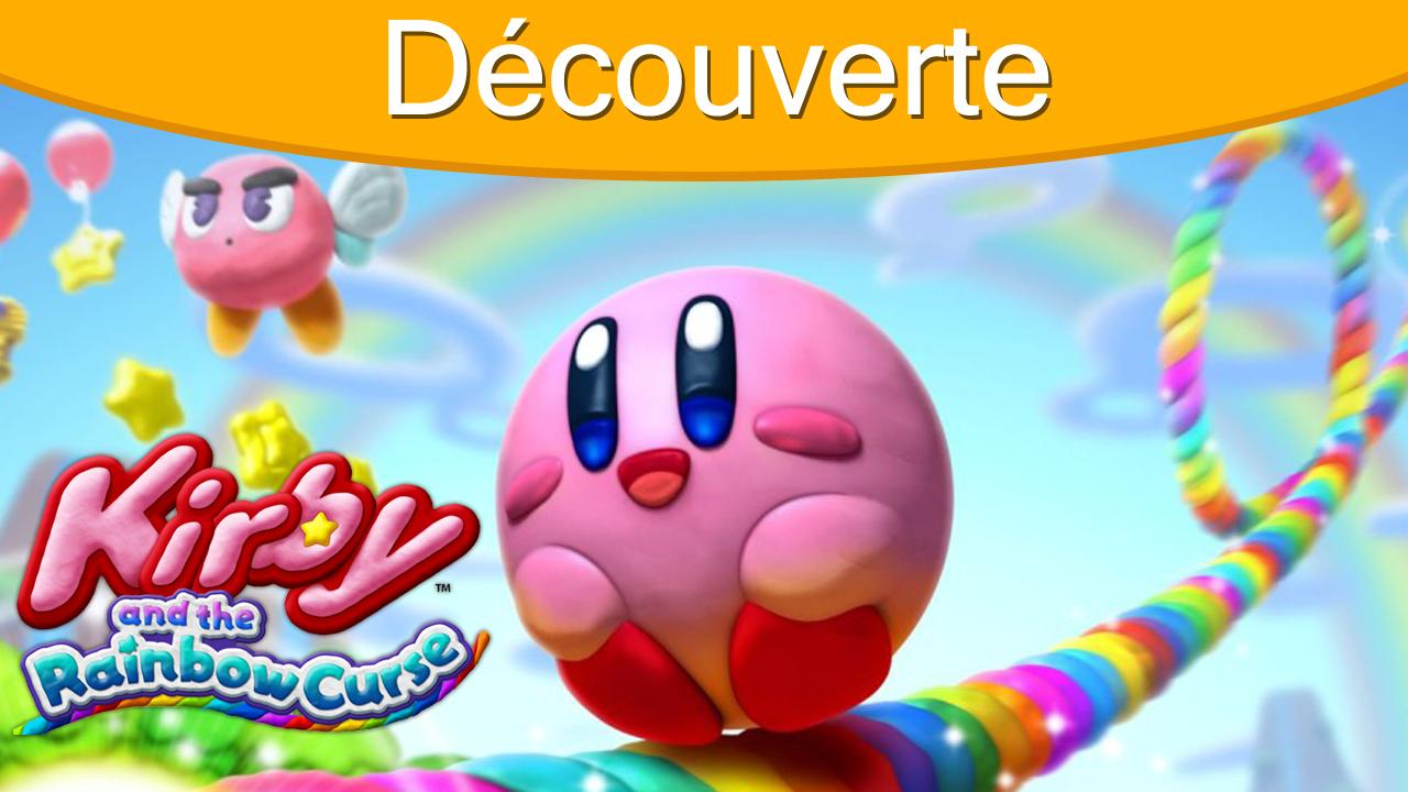 Découverte en vidéo de Kirby and The Rainbow Curse sur Wii U
