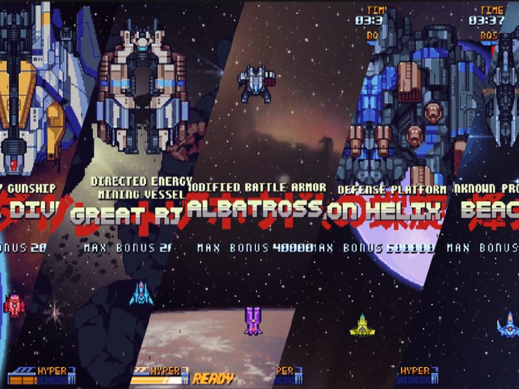 Test – Super Galaxy Squadron: Retour du Shmup oldschool
