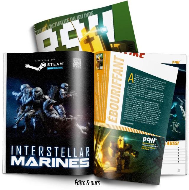 Découverte d'un magazine sur le jeu indé: P911