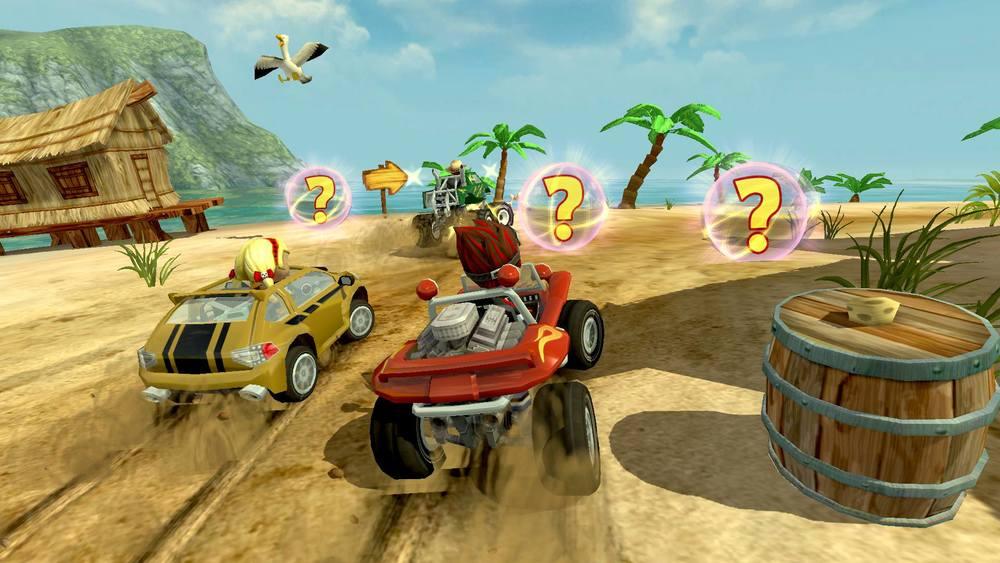 Test – Beach Buggy Racing : Mario Kart à la plage