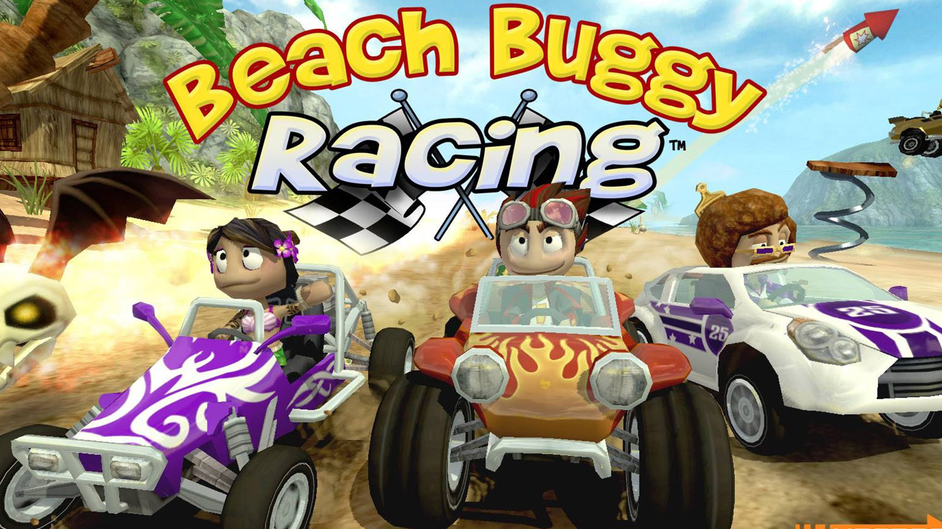 Vidéo : Présentation de Beach Buggy Racing