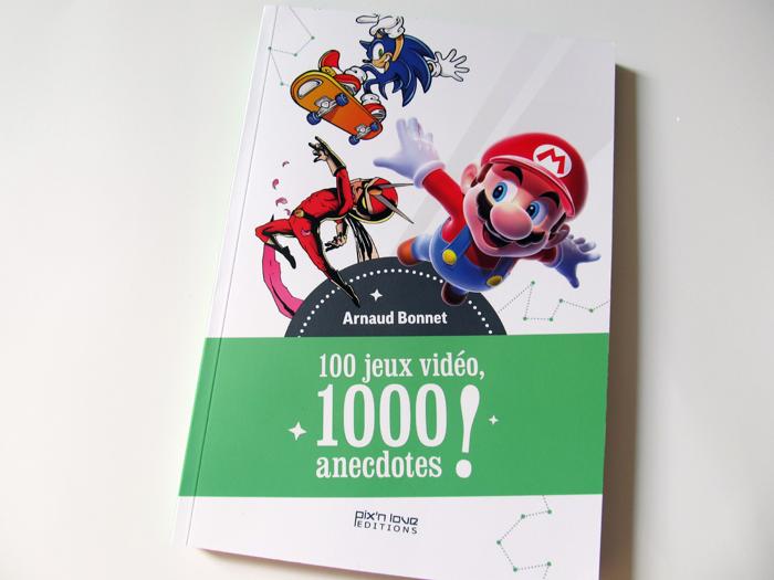 100 jeux vidéo, 1000 anecdotes! chez Pix'n Love : nos impressions