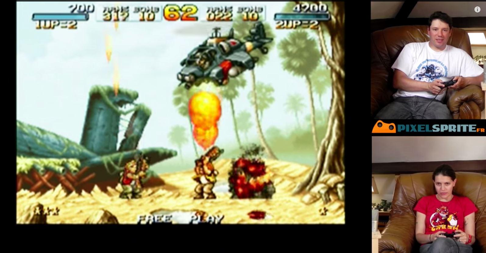 Rewind : Episode 06 – Metal Slug Anthology sur PS2