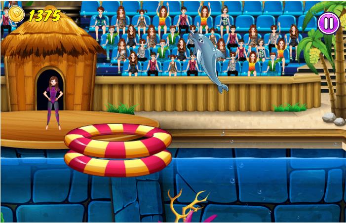 Jeu gratuit de la semaine : My Dolphin Show 7