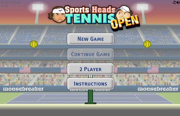 Jeu gratuit de la semaine : Sports Heads Tennis Open