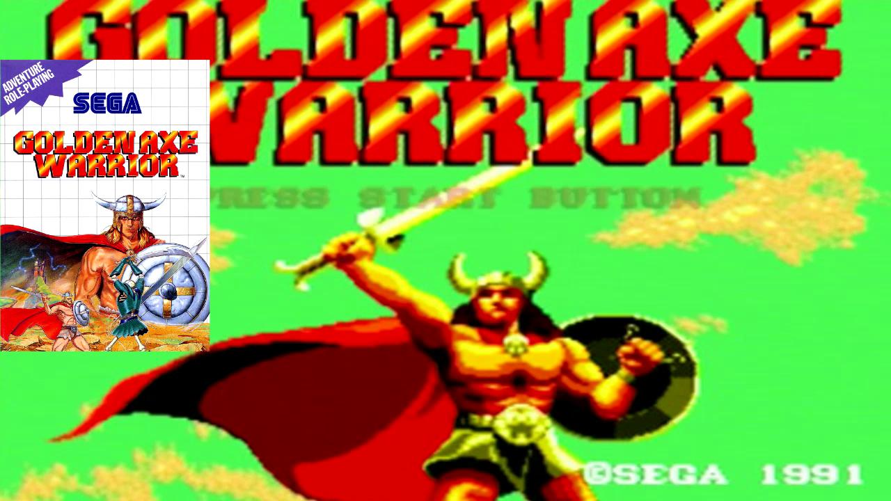 Rewind – Episode 07 – Golden Axe Warrior sur MS
