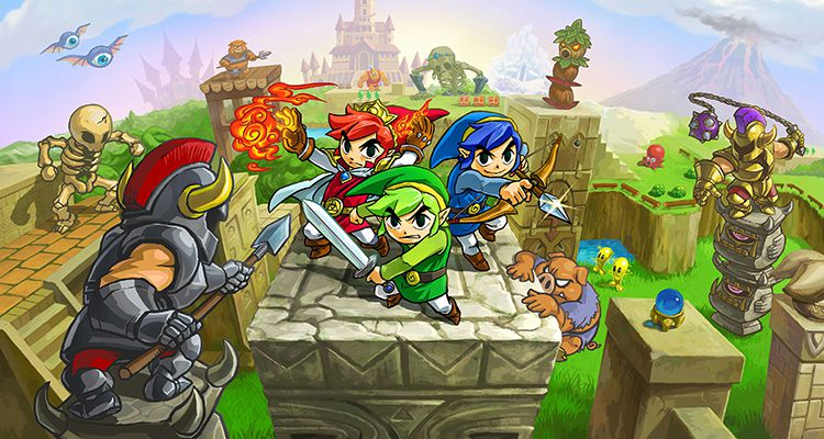 Test – The Legend of Zelda : Tri Force Heroes : quand le multi s'impose